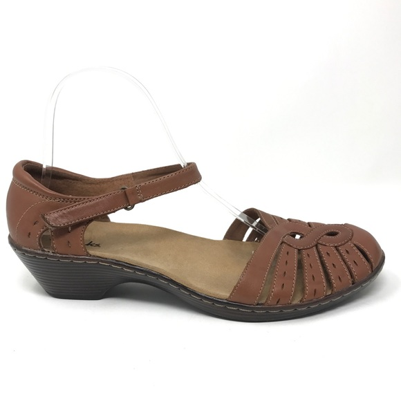773d677aa7bc Clarks Shoes - Clarks Wendy River Fisherman Style Sandal Sz 9.5